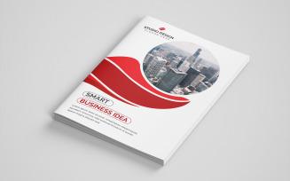 Blackopps Bifold Brochure Design Corporate Identity Template