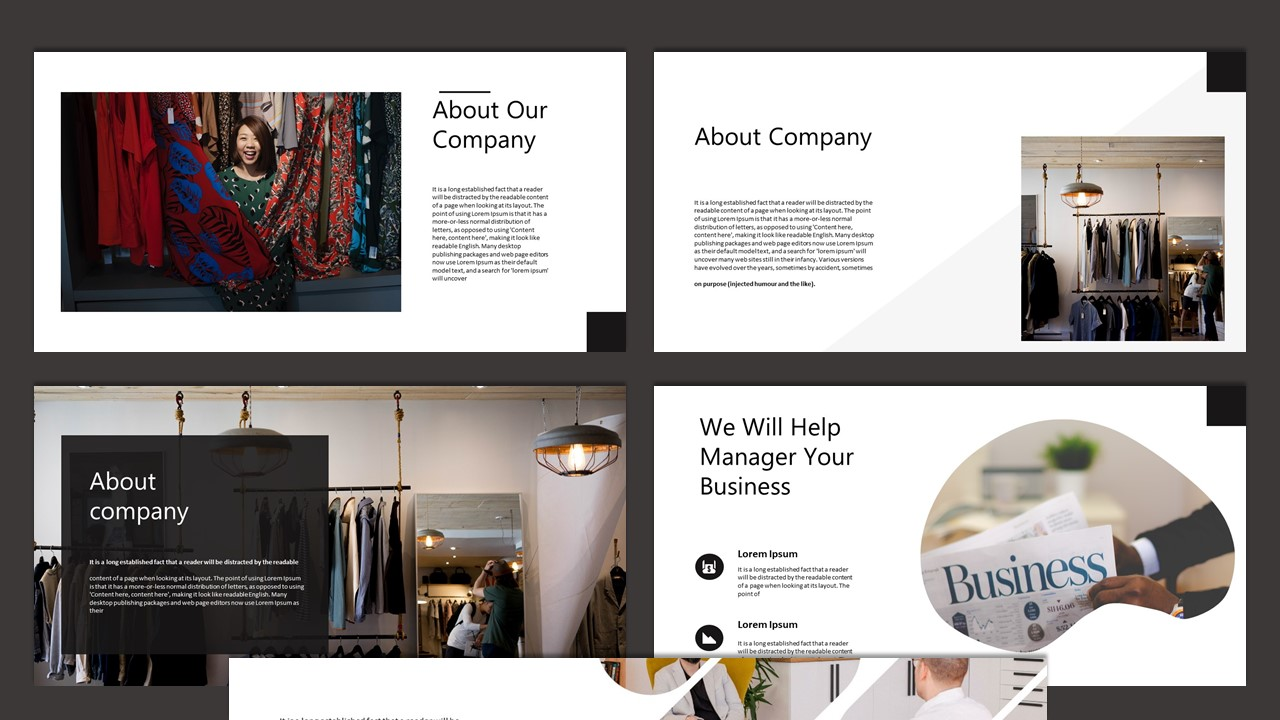 Amaranda Creative Business PowerPoint Template