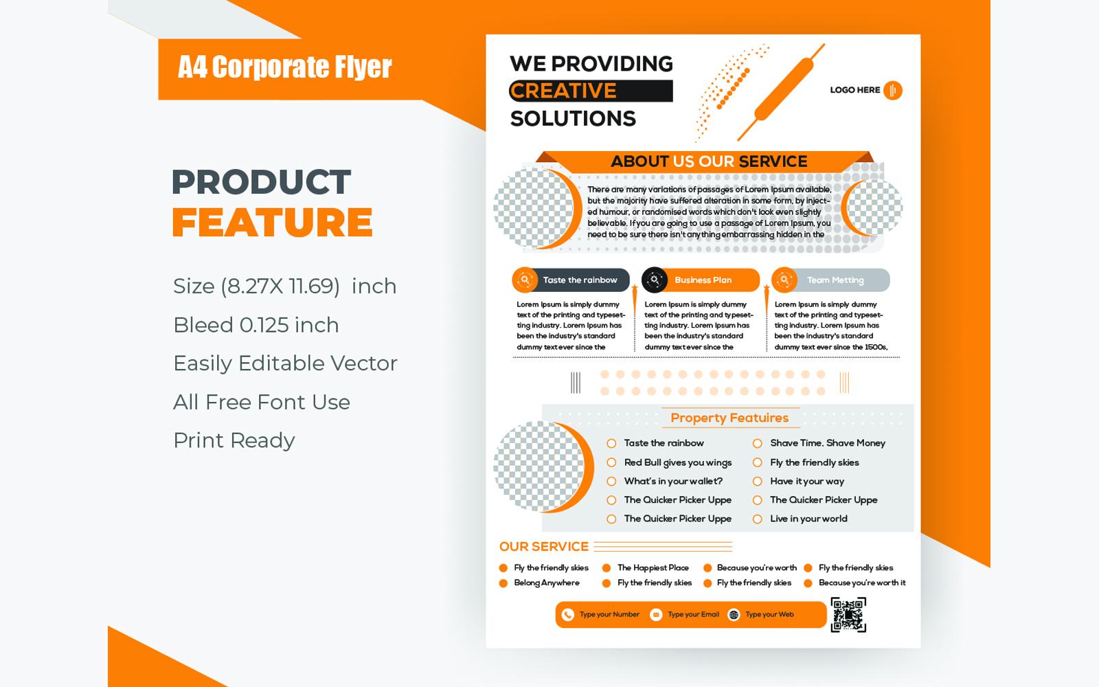 Flyer Design Corporate Identity Template
