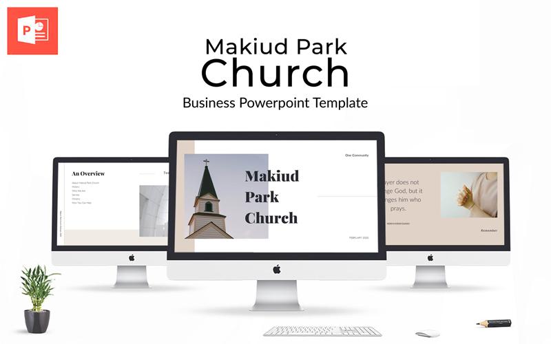 Makiud Park Church Presentation PowerPoint Template