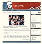 Themes for Wordpress 2.0.1 - 2.0.5: Politics Personal Pages WordPress Themes