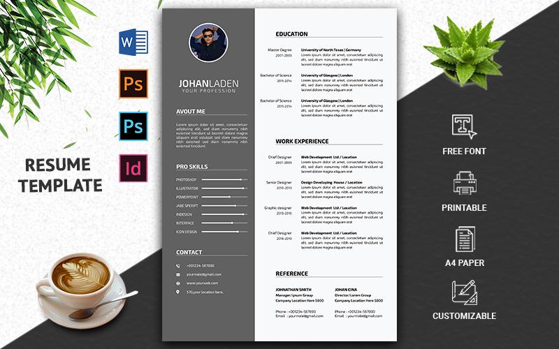 Professional & CV Resume Template