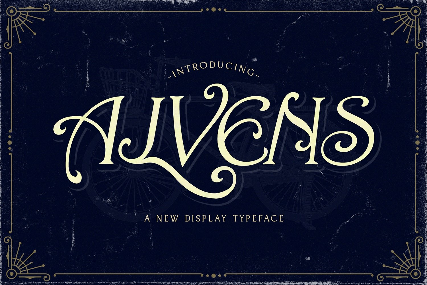 Alvens - Stylish Display Font