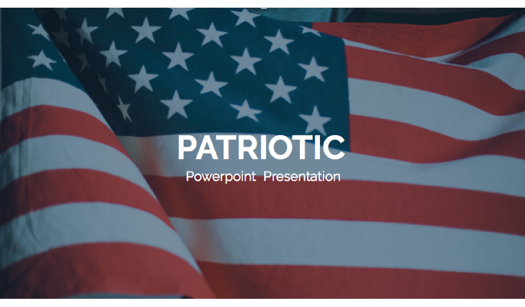 Patriotic PowerPoint Template