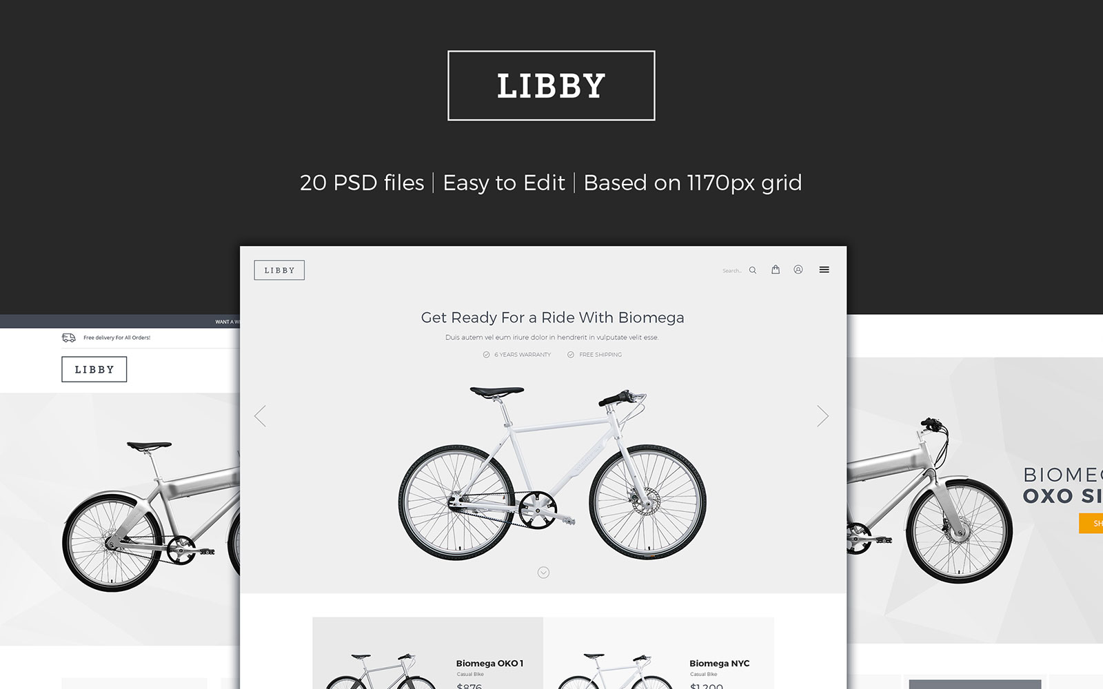 Libby - eCommerce №107313