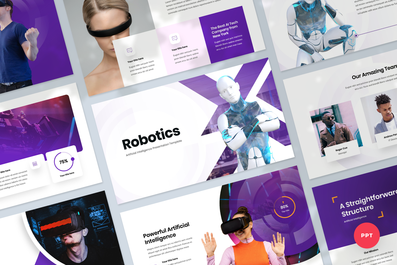 Artificial Intelligence Presentation PowerPoint Template