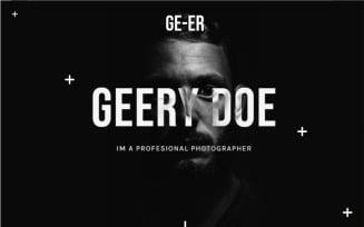 Ge-eR - Multipurpose Portfolio Landing Page Template