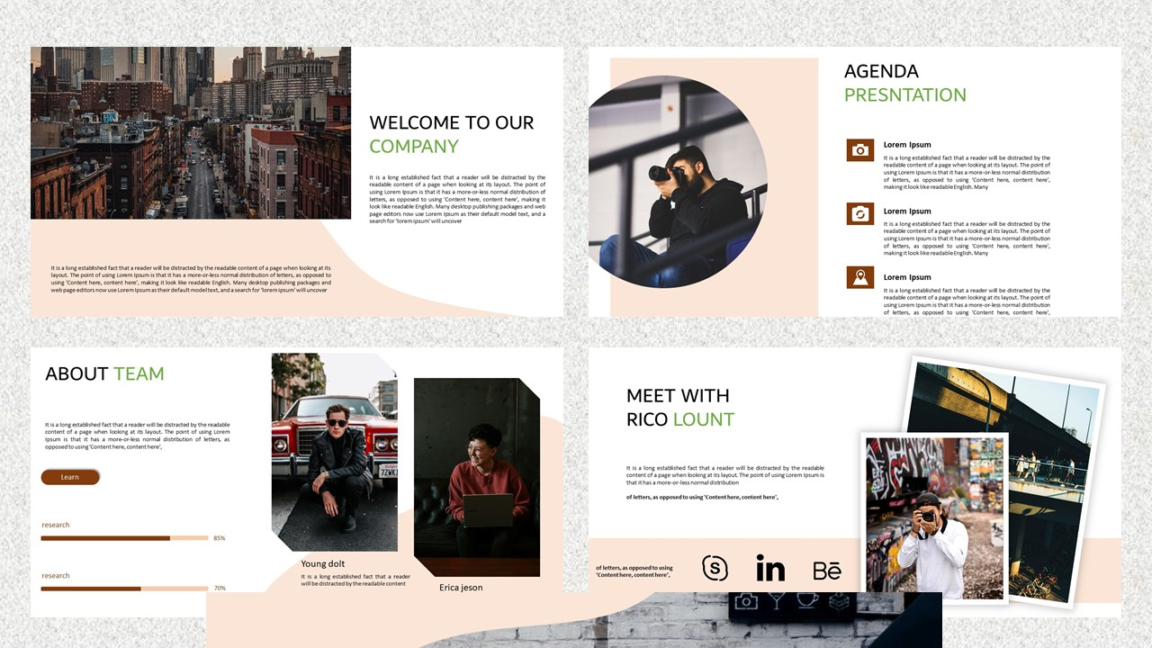 Photo Rafi – Creative Business PowerPoint Template