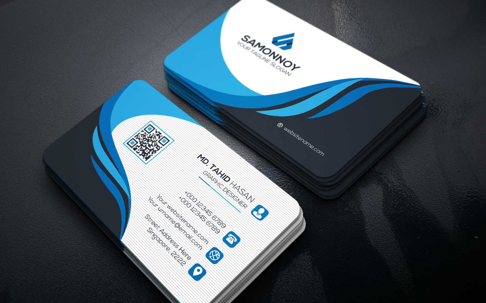 Business Cards Corporate Identity Template
