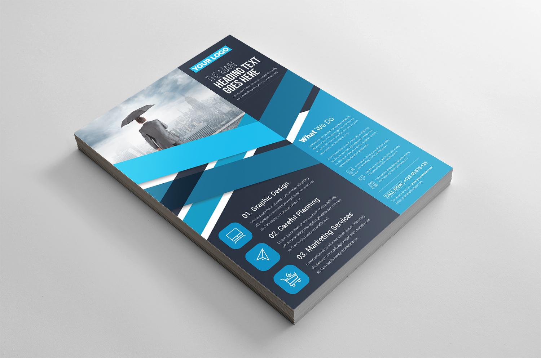Modern Flyer Corporate Identity Template