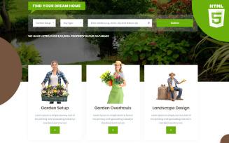 Gardenia | Gardening and plantation HTML5 Website Template