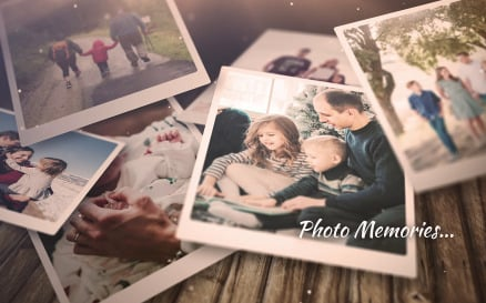 Dramatic Photo Memories After Effects Template