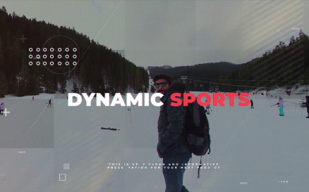 Dynamic Sports After Effects Template