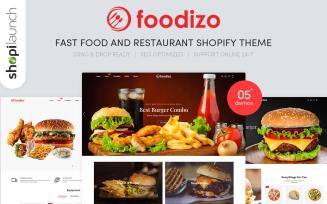 Foodizo - Fast Food & Restaurant Responsive Shopify Theme