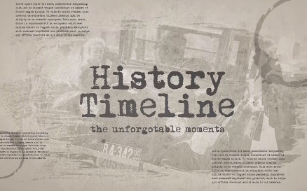 History Timeline Premiere Pro Template