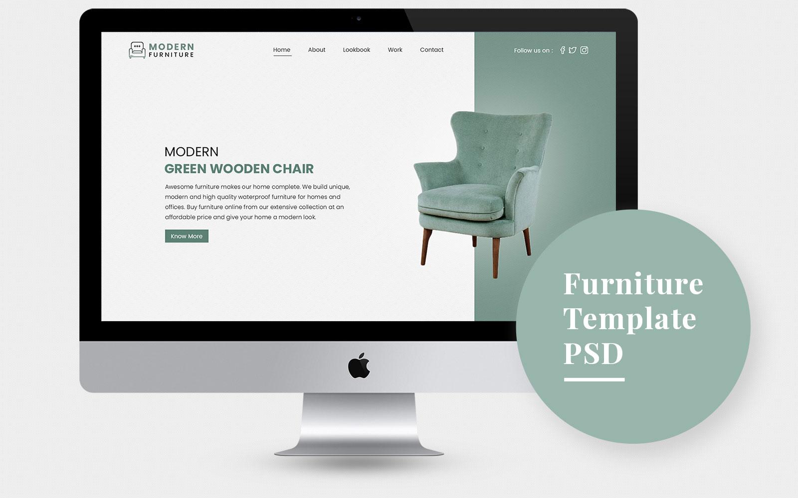 Modern Furniture №107862