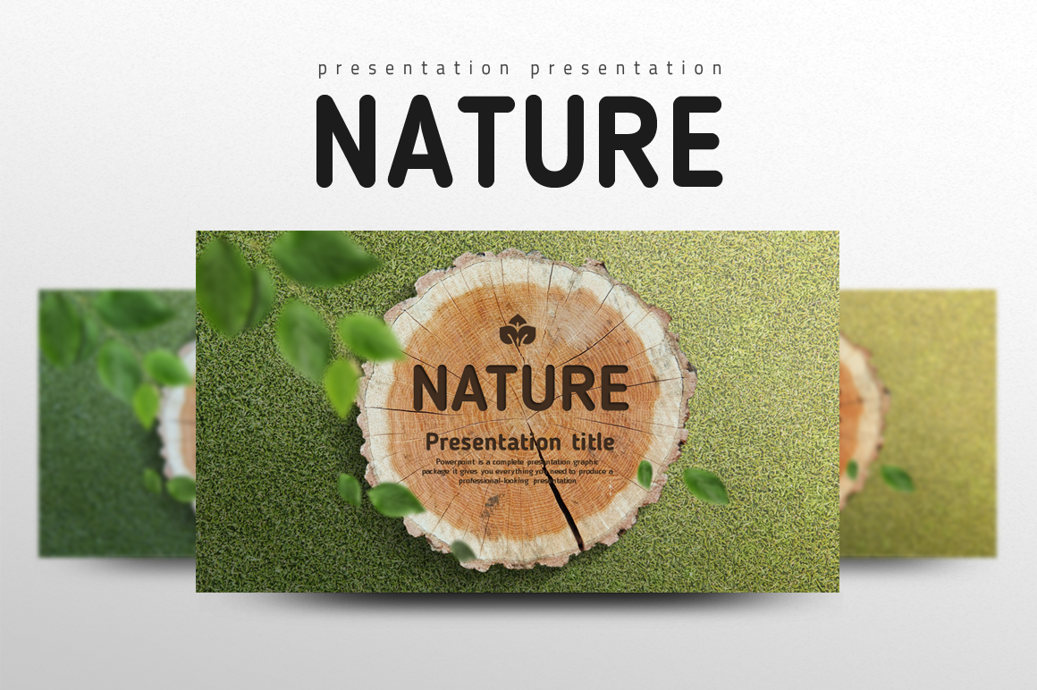 Nature PowerPoint Template