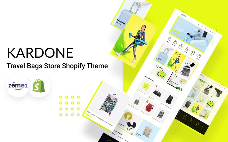 """Shopify Theme namens """"KarDone Travel Bags Store"""" #107858"""