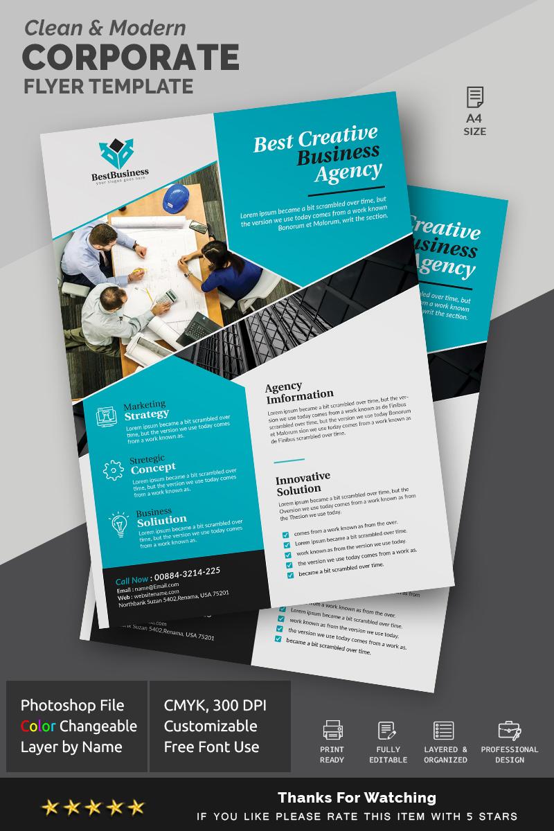 Best Design Flyer Corporate Identity Template