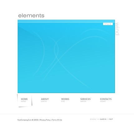 Website Template #10845