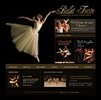 Website: Entertainment Society & Culture Full Site CSS Most Popular Black Templates