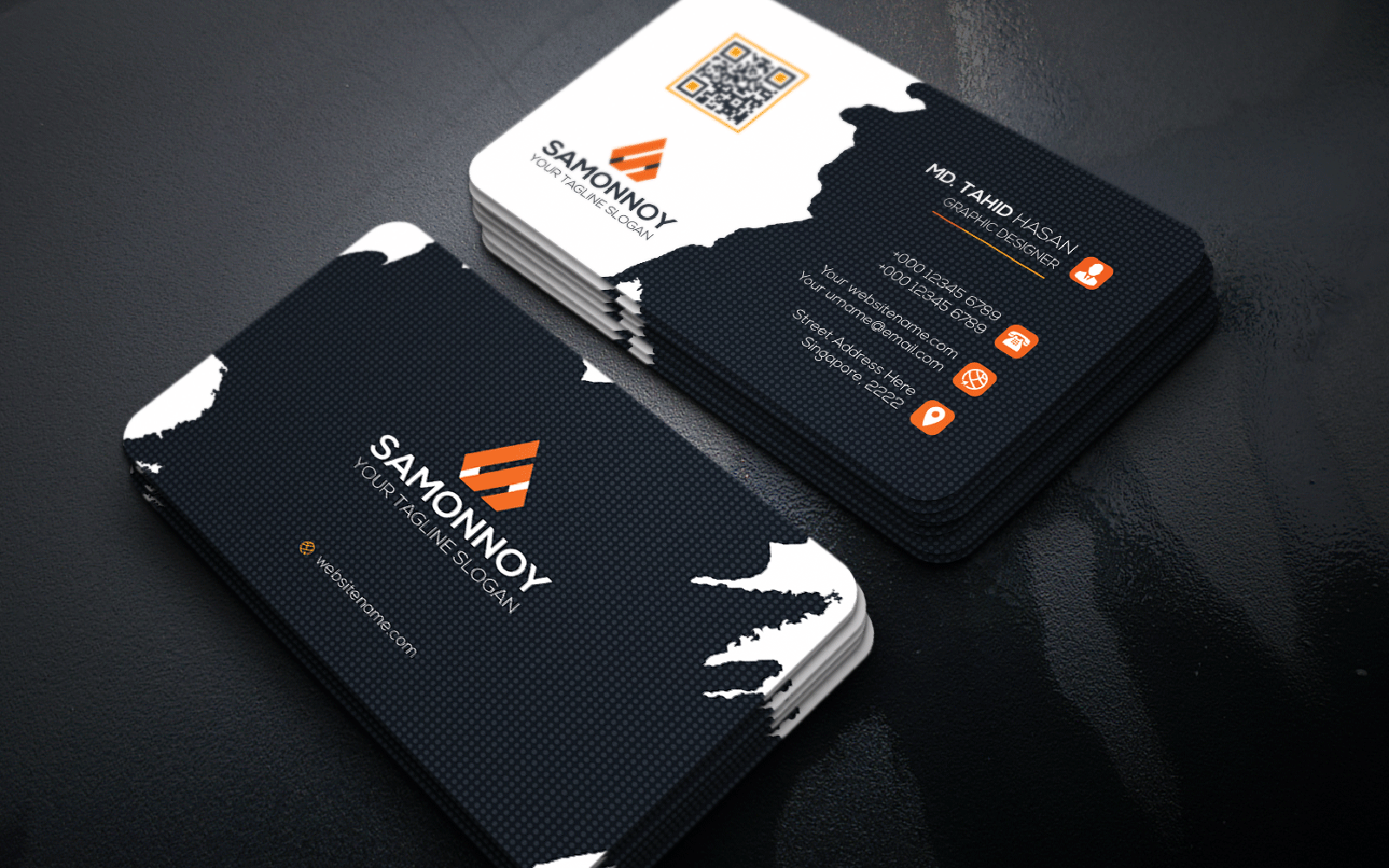 Cool Business Card Corporate Identity Template