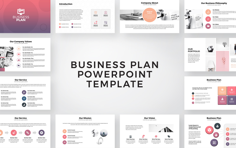 "PowerPoint Vorlage namens ""Business Plan Presentation"" #108065"