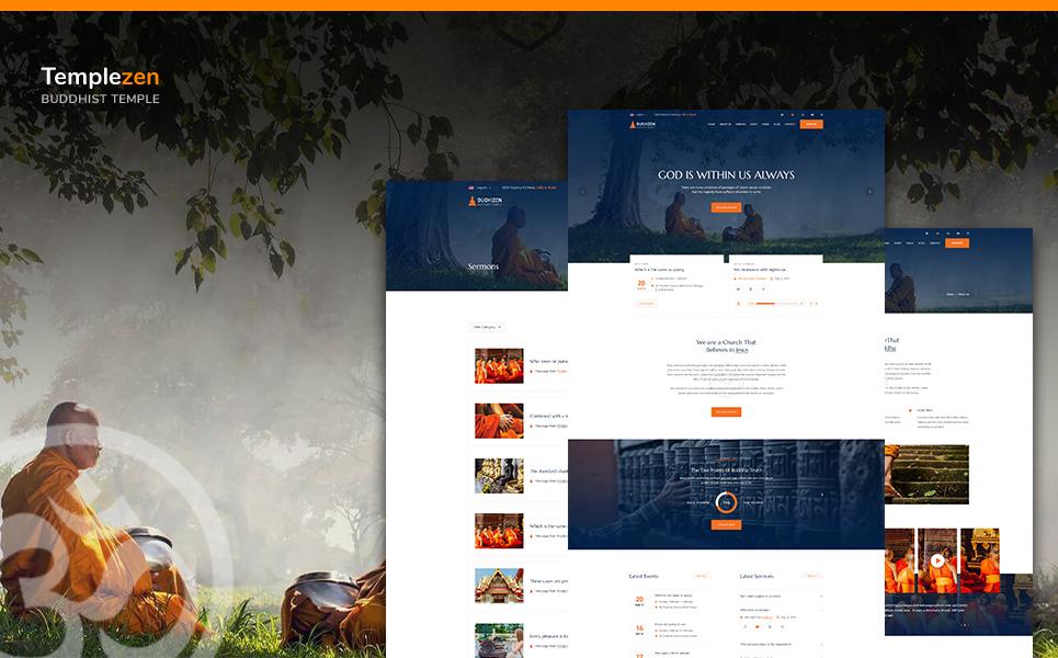 Responsywny szablon strony www Templezen -  Temple Religious HTML5 #108074