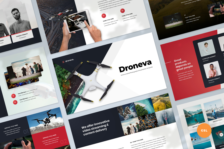 Drone Aerial Photography Presentation Google Slides