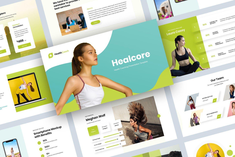 Health Coaching Presentation Google Slides