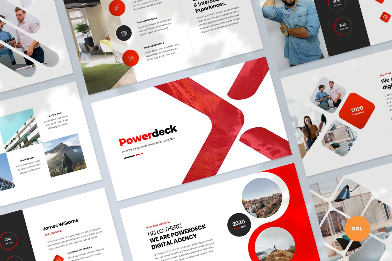 Pitch Deck & Business Presentation Google Slides
