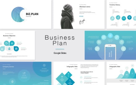 Business Plan Google Slide