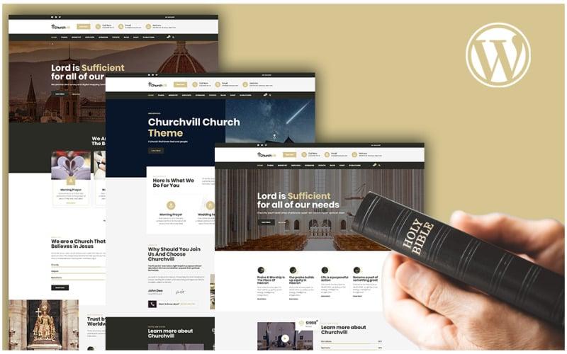 Churchvill - Church WordPress Theme