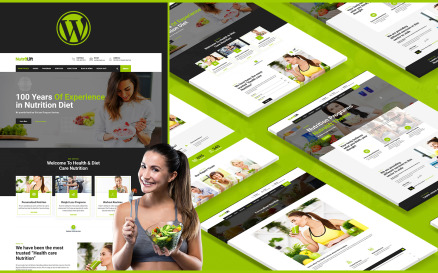 Nutralift | Wellness Nutritionist WordPress Theme