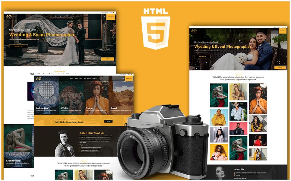 Responsywny szablon strony www Jhone Doe - Photography HTML #108496