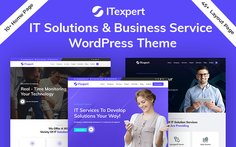 ITexpert IT Solution & Technology WordPress Theme