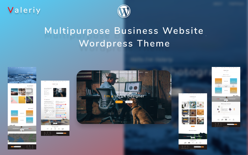 Valeriy | Multipurpose Business WordPress Theme