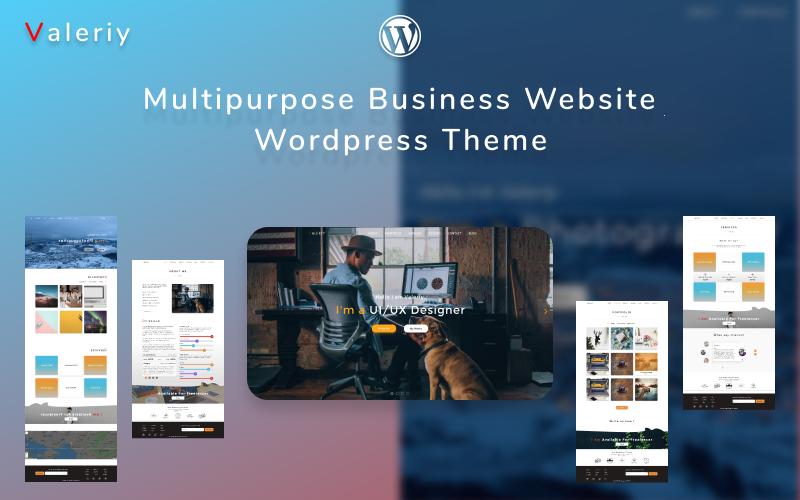 Valeriy | Multipurpose Business WordPress Theme