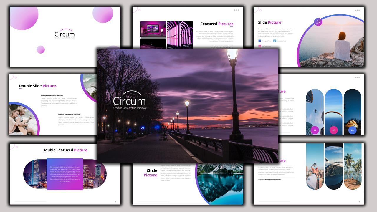 Circum - Creative Business PowerPoint Template