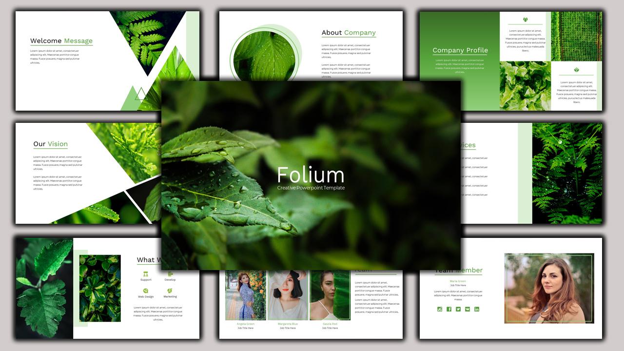 Folium - Creative Business PowerPoint Template