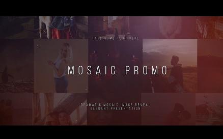 Mosaic Promo - Final Cut Pro Template