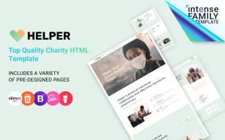 Helper - Charity Organisation Website Template