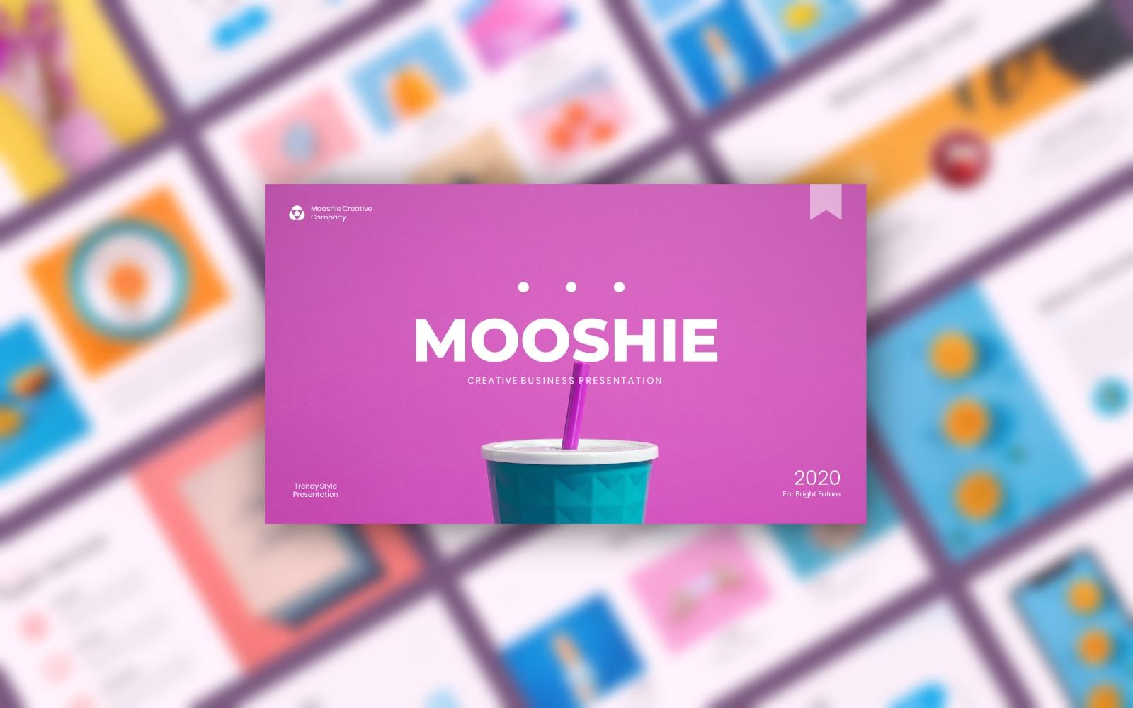 Mooshie - Pop Art & Creative Business Google Slides
