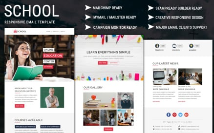 School Email Newsletter Template