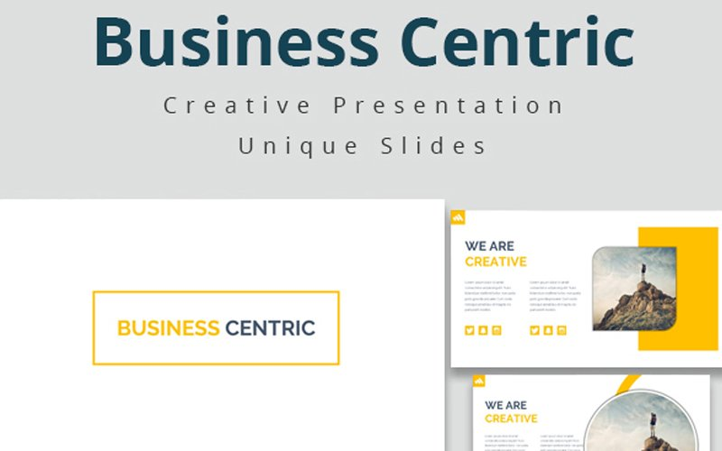 Business Centric Template №108951