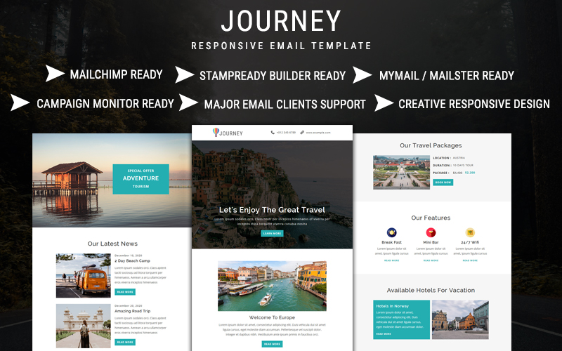 Journey - Email Newsletter Template