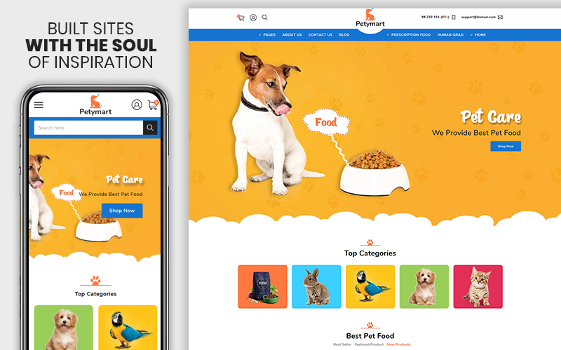 Petymart - The Pet & Animals Responsive №108971