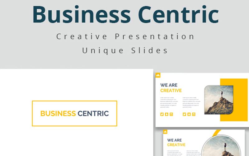 "Tema Google Slides #108951 ""Business Centric Template"""