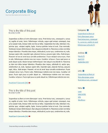 Тема (шаблон) для Wordpress (10965)