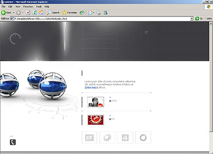 Website Template #10978